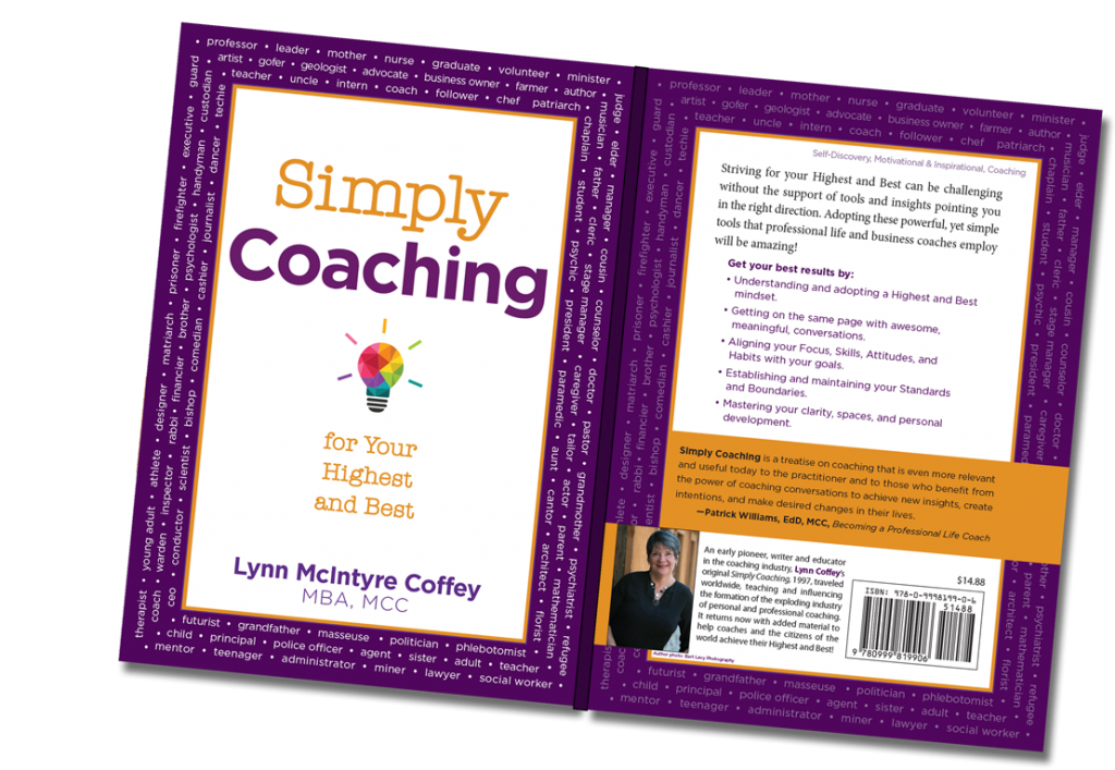 Book Cover Simply Coaching Master Certified Coach in Denver Colorado